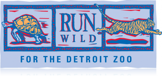 Run Wild Detroit Zoo - Logo