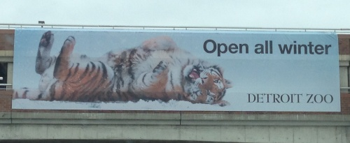 Detroit Zoo Banner