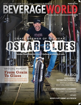 Beverage World Cover - Oskar Blues