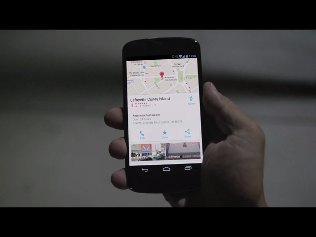 Google Maps | Video Still Picture