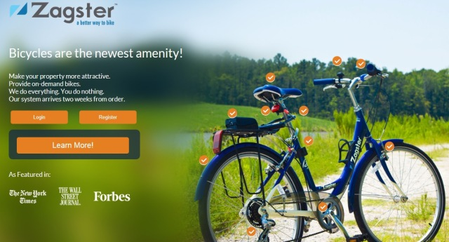 Zagster - Quicken Loans