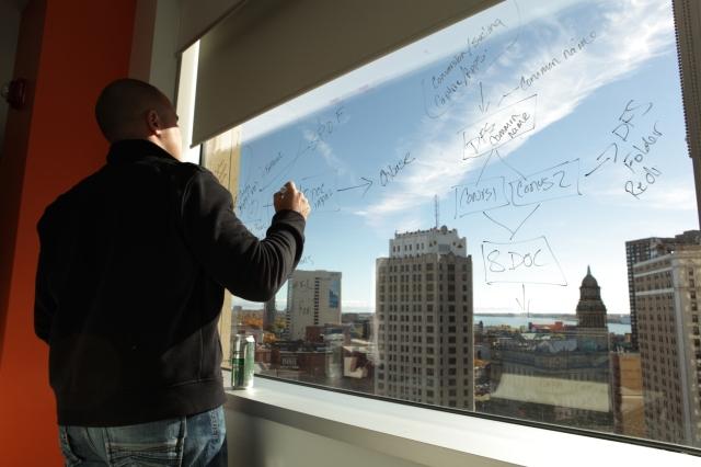 Quicken-Loans-Window-Writing-Detroit-River