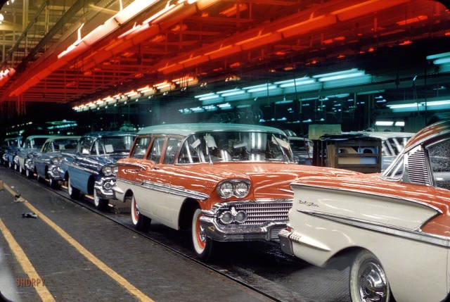 The New Chevrolet - 1957