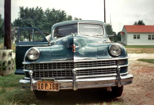 Charlie Ransom's car 1948
